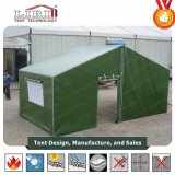 tenda militare di alluminio verde dell'esercito del coperchio di PVC di 10X20m