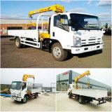 Isuzu grue montée sur camion avec 2t, 3.2T, 4t, 5t, 6.3T Vente de capacité de charge