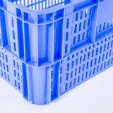 Numéro 5 a emboîté le HDPE normal de caisse de Plasitc de caisse empilable