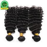 Venda por grosso de cabelo humano Indian Encaracolado trama preço de fábrica