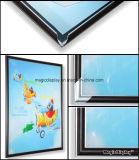 クリップフレームのライトボックスの広告