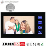 7 pulgadas de desbloqueo de la tarjeta de identificación Video Portero