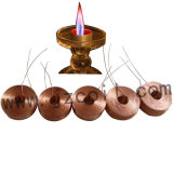 Медная катушка светильника свечки катушки индуктора катушки замотки для светильника свечки