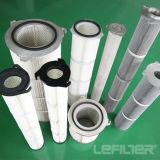 Pulso largo plisado cartucho de filtro de aire