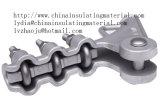 Morsetto di sforzo serrato del ghisa Meallable della sottostazione/della riga ambientale