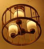 Luz de mármore espanhola bonita redonda do pendente para o projeto do hotel