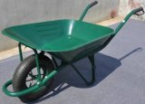 Wheelbarrow Wb7001 de madeira