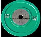 모든 고무 색깔 풍부한 무게 격판덮개 바벨, 무게 dumbbell (ush-13)