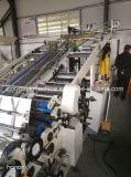 Hebei-Vakuum, das volle automatische Papierflöte-lamellierende Maschine saugt