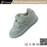 De Tennisschoen die van de Schoenen van jonge geitjes Toevallige Schoenen 20296-1 in werking stellen van Sportswhite van Schoenen