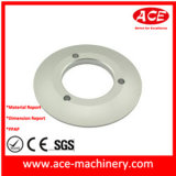 Base en aluminium usiné CNC