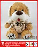 Venta caliente suave Peluche de perro de juguete de títeres con CE