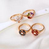 11722 El buen anillo vendedor caliente de la joyería de la manera de Qualitty 18k Gold-Plated para los mejores regalos de las mujeres