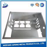 Gabinete inoxidável da fabricação de metal da chapa de aço com carimbo e solda
