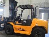新しい7トンのディーゼルフォークリフトの一人乗り二輪馬車Elevateur