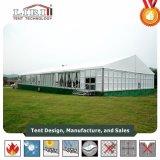 grote die Tent van het Aluminium van de Spanwijdte van 15m de Duidelijke als Tijdelijk Bureau wordt gebruikt