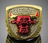 De hete Ringen van het Basketbal van Chicago van de Stieren van 1993 met SGS