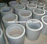 FO-183 de openlucht Decoratieve Planter van de Glasvezel van de Cilinder