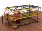 2015 Climbing Ropes Nets Obstacle Indoor Playground