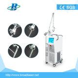 Equipamento fracionário do laser da fisioterapia do laser do CO2 do RF