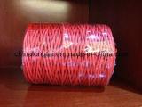 La bonne utilisation chaîne torsadée Fibrillated PP/PP de la ficelle d'emballage