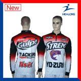 중국 최신 판매 의류 남자를 위한 주문 Sublimaton 어업 셔츠