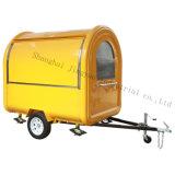 完全な装置のクレープのハンバーガーサンドイッチ販売のための食料調達の移動式コーヒートラックを使って