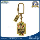 Sostenedor promocional del clave del metal del regalo de la alta calidad