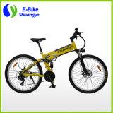 Bicyclette électrique de 26 pouces 36V 250W 350W Folding Mountain