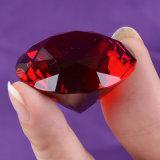 regali di cristallo di vetro variopinti all'ingrosso di amore del diamante di 30mm che Wedding decorazione