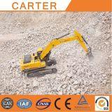 Escavatore resistente multifunzionale caldo dell'escavatore a cucchiaia rovescia del cingolo di vendite CT360-8c di Carter
