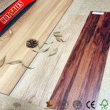 Bois de chêne de la Texture Cliquez sur un revêtement de sol PVC