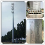 Telecom를 위한 강철 Self Support Single Tube Tower