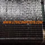 tela unidirecional da fibra do carbono da largura 200GSM de 30cm