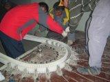 Guichet d'arc de machine à cintrer de profil de PVC faisant la machine