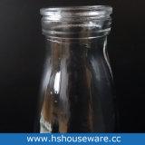 trinkende Flasche der Glasmilch-500ml