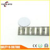 Tag plástico do disco RFID com furo para a identificação