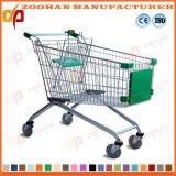 Европейская вагонетка супермаркета магазинной тележкаи типа от изготовления (Zht111)