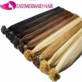 Человеческие волосы сплавливания самых лучших волос конца ручки надкожицы качества полных горячие