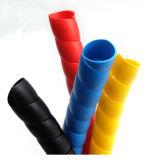 Protetor/envoltório espiral plástico antienvelhecimento/luvas protetoras para a mangueira da água