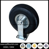10 بوصة صناعيّة سوداء مطّاطة هوائيّة عجلة سابكة