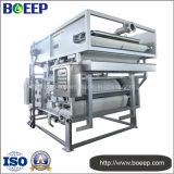 Buena prensa de filtro de la correa de la capacidad que trata que deseca en proyecto del tratamiento de aguas residuales