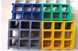 Reja moldeada FRP/Fiberglasss multicolora con ignífugo