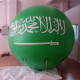 広告のための膨脹可能なヘリウムの気球