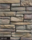Rebord de la conception de la maçonnerie de pierre sur le terrain pour Villa revêtement mural (revêtement mural)