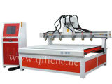 Multi-Spindle Woodworking CNC Router for 3D Stereoscopic Carving Relief