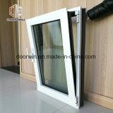 White inclinar y girar la ventana con salto térmico de aluminio