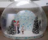 Adverterend de Opblaasbare Transparante Sneeuwbal van de Bal voor toon