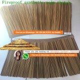 Огнеупорные синтетических Palm соломенной Viro соломенной раунда пластинчатый африканских соломенной хижине индивидуальные квадратных африканских Хат Африки соломенной 21