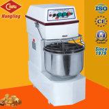 Mezclador del espiral de la harina de la velocidad doble de 40 litros 12 kilogramos para la panadería